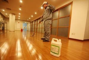 聊城地板打蜡
